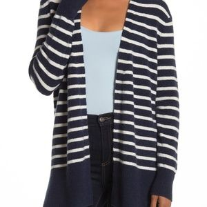 Madewell blue white stripe New Sweater sz M NEW